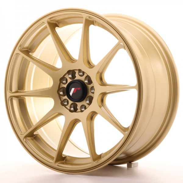 JR Wheels JR11 17x8,25 ET35 5x112/114,3 Gold
