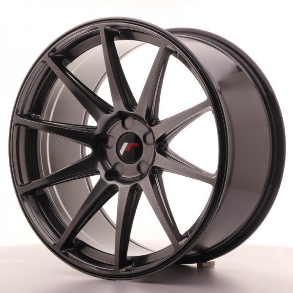 JR Wheels JR11 20x10 ET20-40 5H BLANK Hyper Black