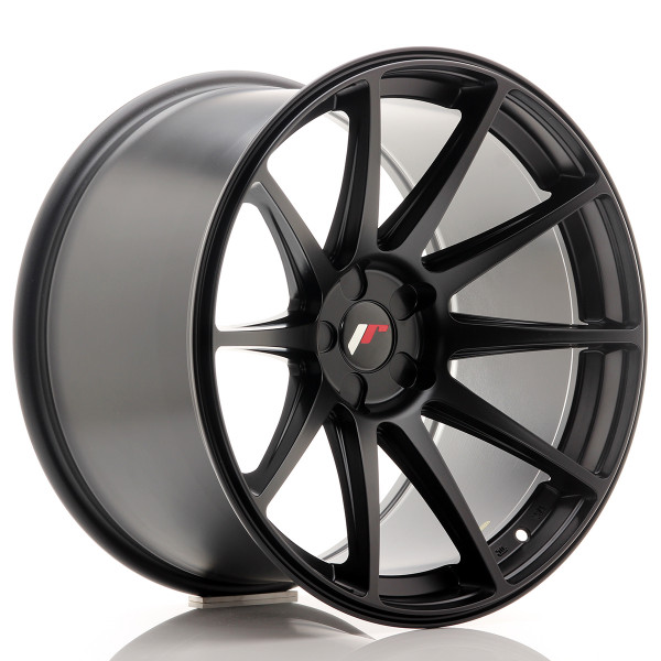 JR Wheels JR11 19x11 ET25 5H BLANK Matt Black