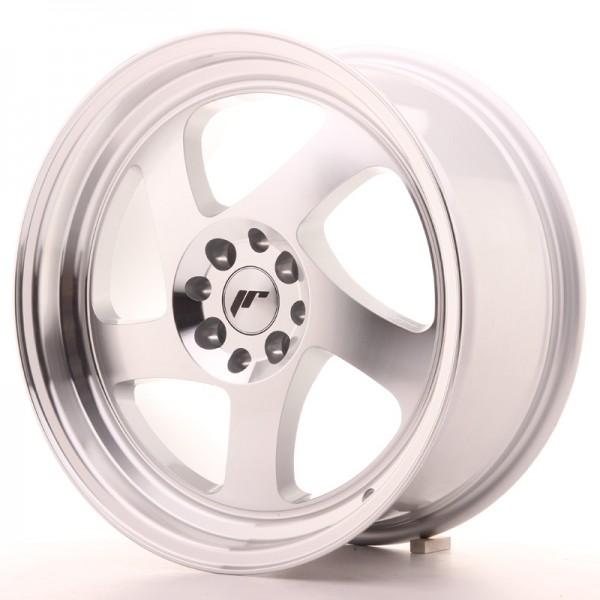 JR Wheels JR15 17x8 ET35 5x100/114 Silver Machined Face