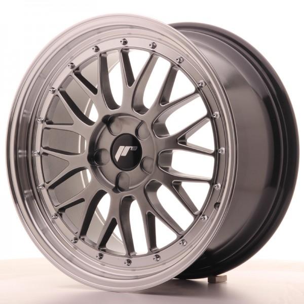 JR Wheels JR23 18x8,5 ET25-48 5H BLANK Hyper Black w/Machined Lip