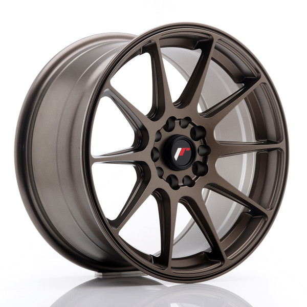 JR Wheels JR11 17x8,25 ET35 5x100/114,3 Matt Bronze