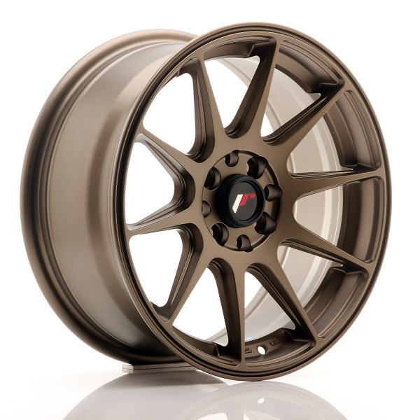 JR Wheels JR11 16x7 ET25 4x100/108 Matt Bronze
