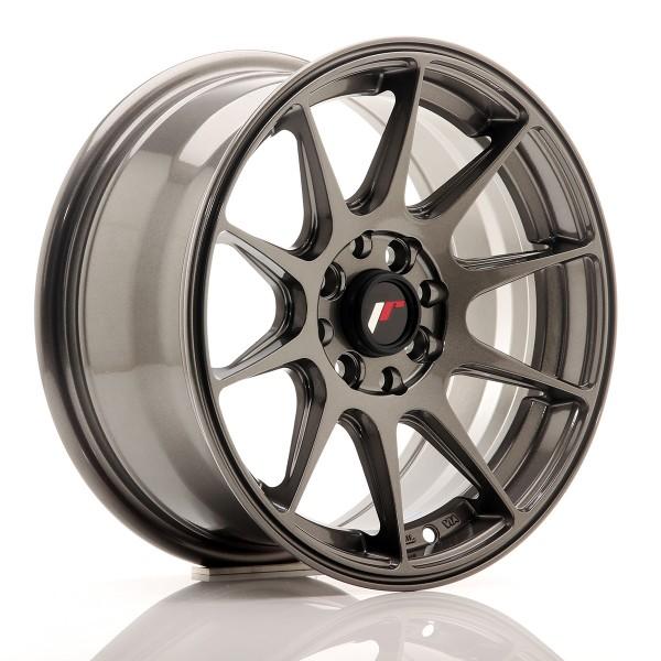 JR Wheels JR11 15x7 ET30 4x100/108 Hyper Gray