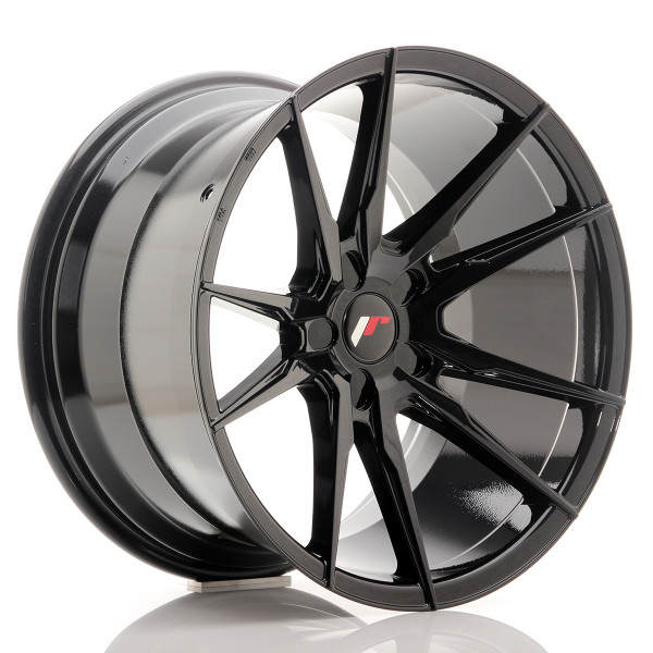 JR Wheels JR21 19x11 ET15-30 5H BLANK Gloss Black