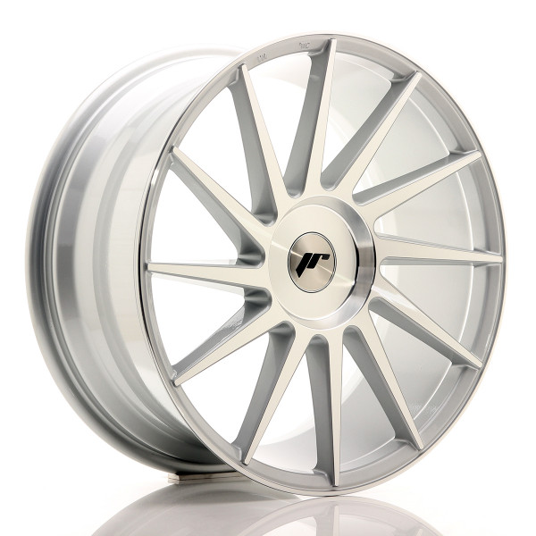 JR Wheels JR22 19x8,5 ET20-40 BLANK Silver Machined Face