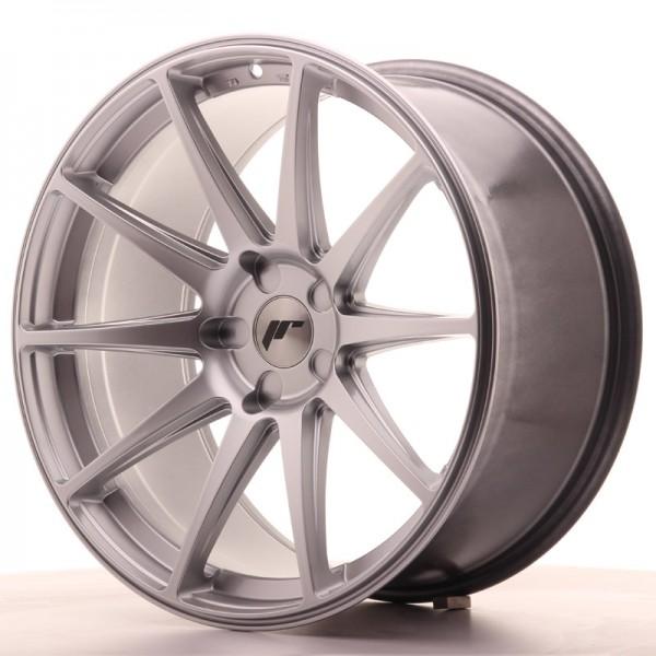 JR Wheels JR11 20x10 ET40 5H BLANK Hyper Silver