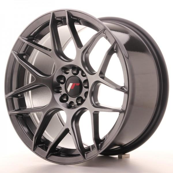 JR Wheels JR18 17x9 ET35 5x100/114 Hyper Black
