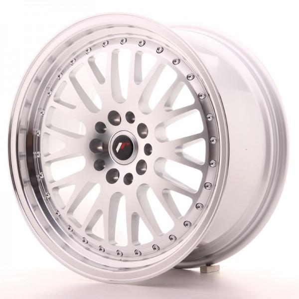 JR Wheels JR10 18x8,5 ET40 5x108/114 Silver Machined Face