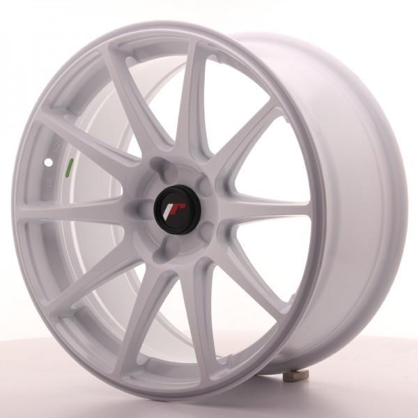 JR Wheels JR11 18x8,5 ET35-40 5H BLANK White
