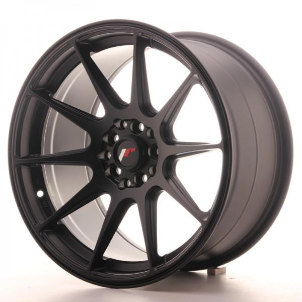 JR Wheels JR11 17x9 ET20 4x100/114 Matt Black