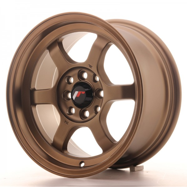 JR Wheels JR12 15x7,5 ET26 4x100/108 Dark Anodized Bronze