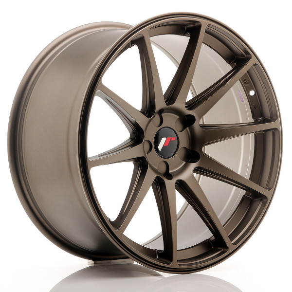 JR Wheels JR11 20x10 ET40 5H BLANK Matt Bronze