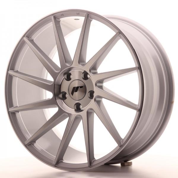 JR Wheels JR22 19x8,5 ET40 5x112 Silver Machined Face