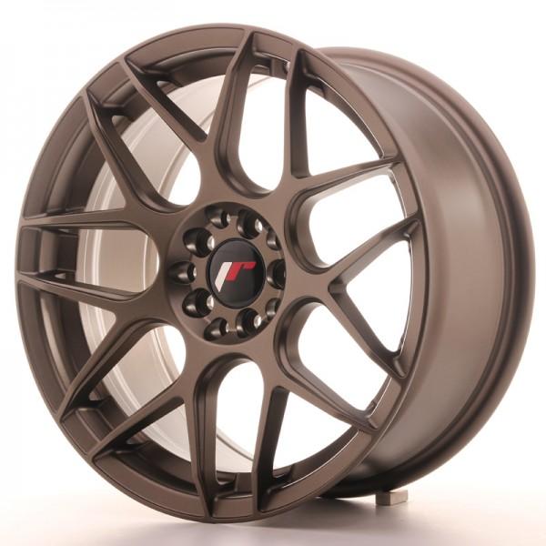 JR Wheels JR18 17x8 ET35 4x100/114 Matt Bronze