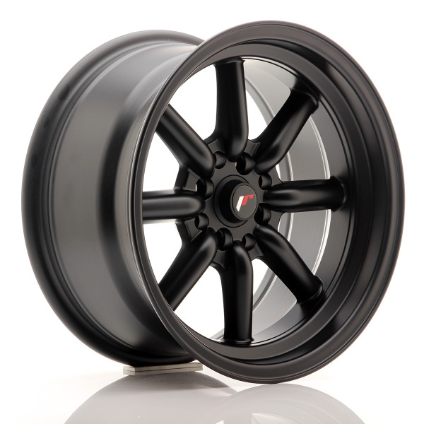 JR Wheels JR19 16x8 ET0 4x100/114 Matt Black