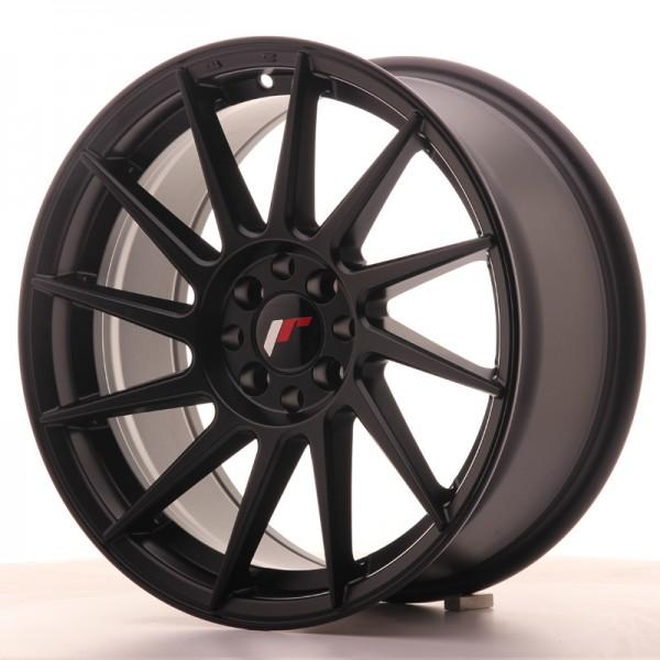 JR Wheels JR22 17x8 ET25 4x100/108 Matt Black