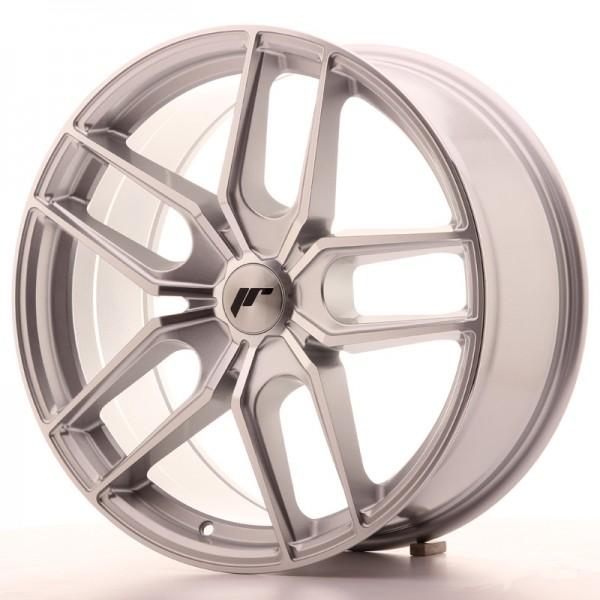 JR Wheels JR25 19x8,5 ET20-40 5H BLANK Silver Machined Face