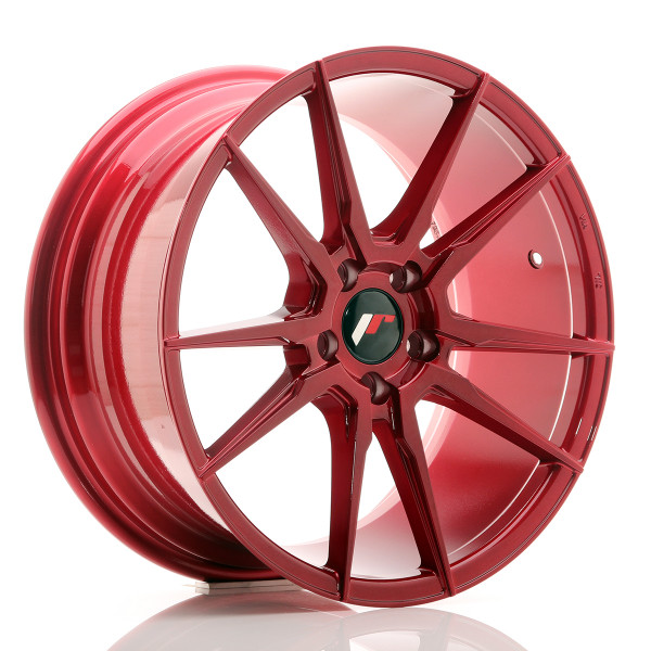 JR Wheels JR21 18x8,5 ET40 5x112 Platinum Red