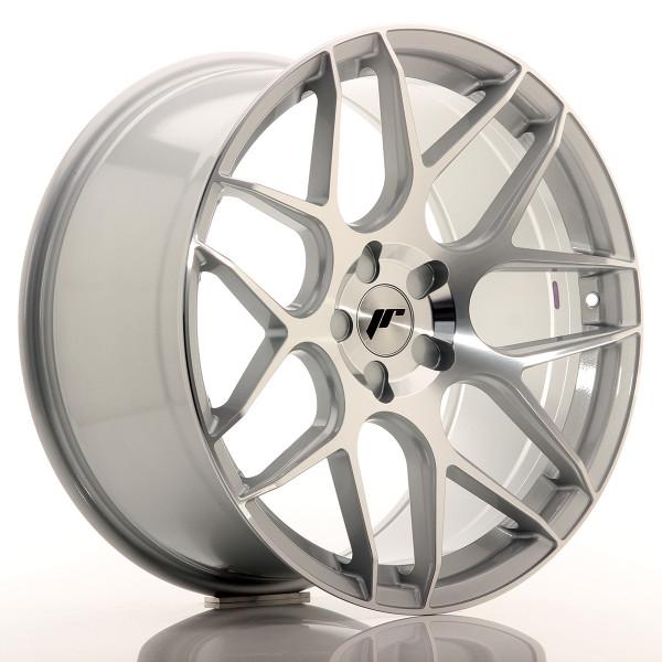 JR Wheels JR18 20x10 ET20-45 5H Blank Silver Machined
