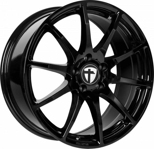 Tomason TN1 16x6.5J ET40 5x100 Black painted