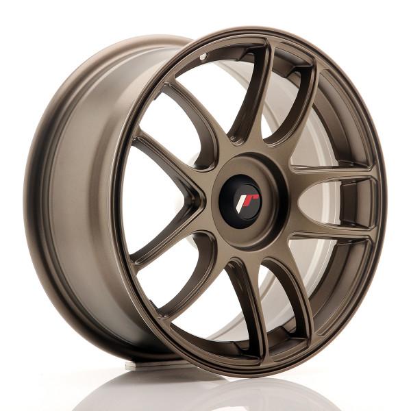 JR Wheels JR29 16x7 ET20-42 BLANK Matt Bronze