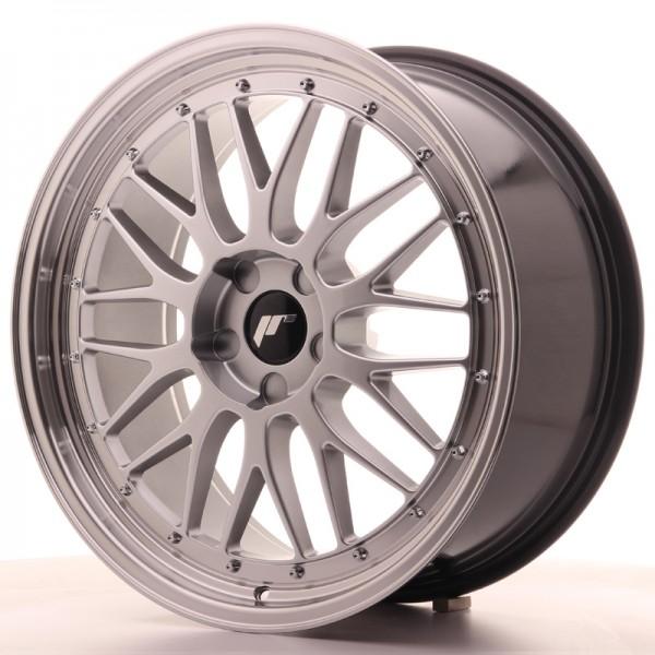 JR Wheels JR23 20x9 ET20-50 5H BLANK Hyper Silver w/Machined Lip