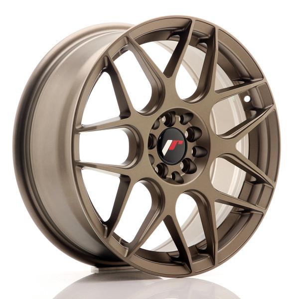 JR Wheels JR18 17x7 ET40 5x100/114 Matt Bronze