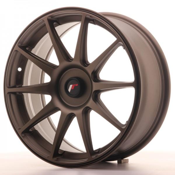 JR Wheels JR11 18x7,5 ET35-40 BLANK Dark Bronze
