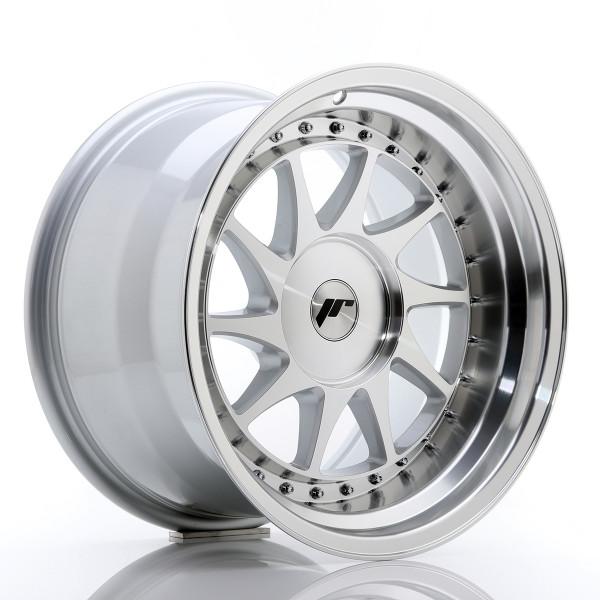 JR Wheels JR26 17x10 ET20-25 BLANK Silver Machined Face