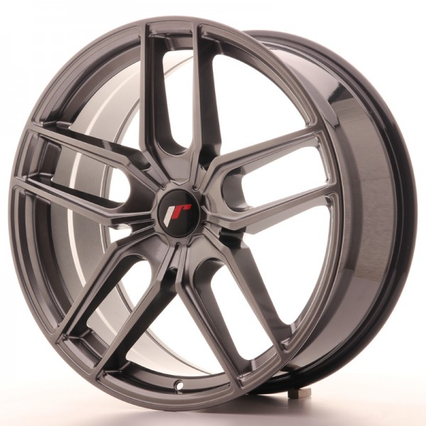 JR Wheels JR25 20x8,5 ET40 5H BLANK Hyper Black