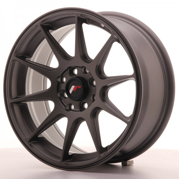 JR Wheels JR11 16x7 ET25 4x100/108 Matt Gun Metal