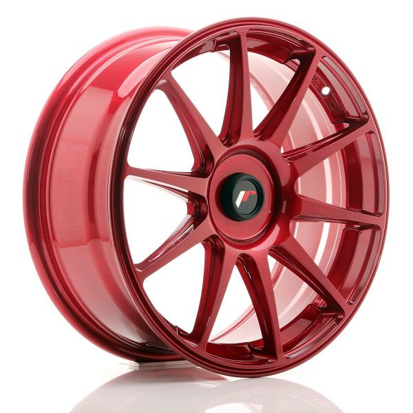 JR Wheels JR11 18x7,5 ET35-40 BLANK Platinum Red