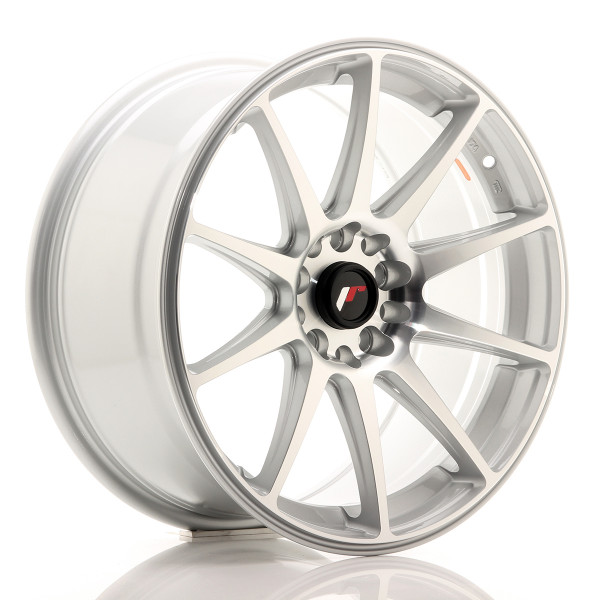 JR Wheels JR11 18x8,5 ET35 5x100/108 Silver Machined Face