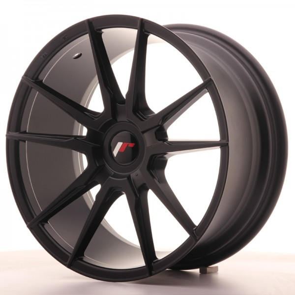JR Wheels JR21 18x8,5 ET20-40 Blank Matt Black