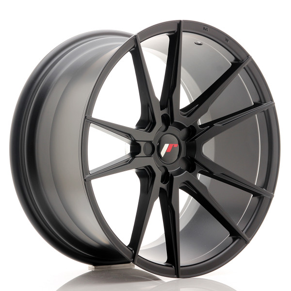 JR Wheels JR21 20x10 ET20-40 5H BLANK Matt Black