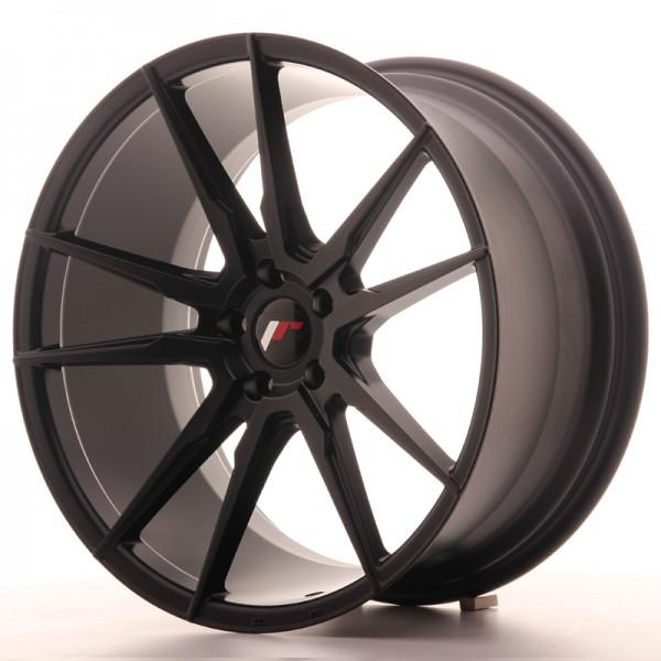 JR Wheels JR21 20x10 ET40 5x112 Matt Black