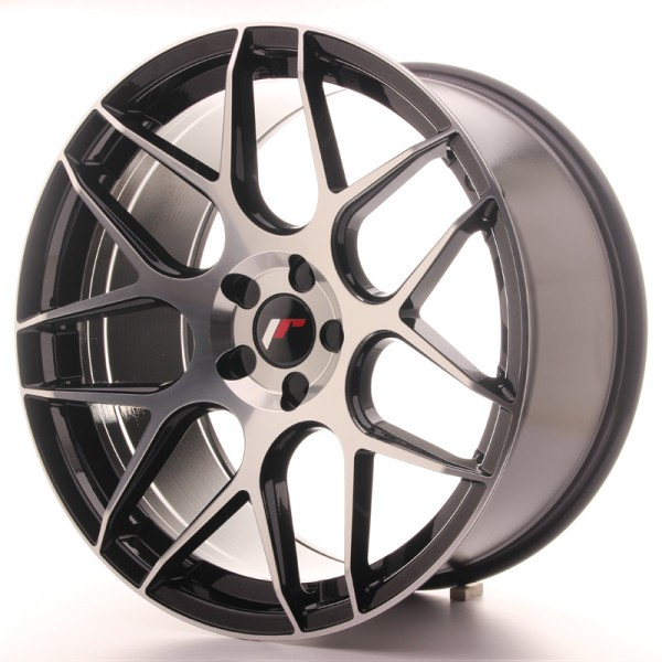 Japan Racing JR18 20x10 ET40-45 5H Blank Glossy Bl