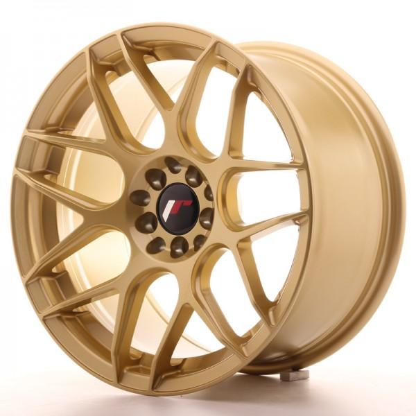 Japan Racing JR18 17x9 ET35 5x100/114 Gold