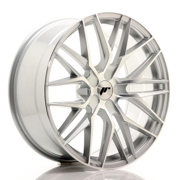 JR Wheels JR28 20x8,5 ET20-40 5H BLANK Silver Machined Face