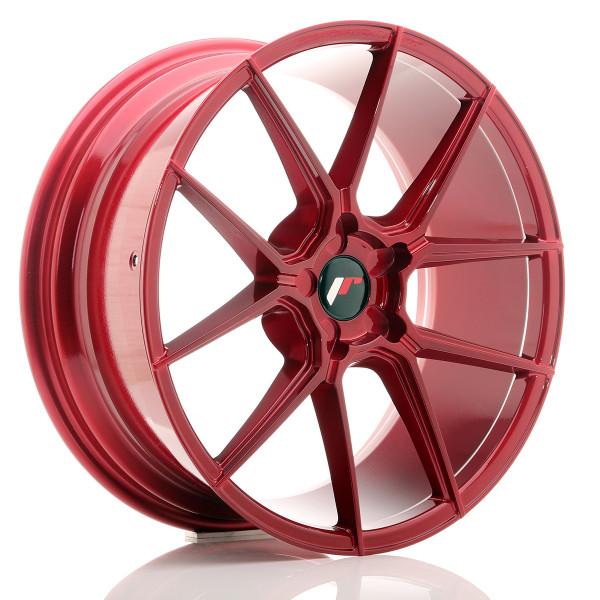 JR Wheels JR30 20x8,5 ET20-42 5H BLANK Platinum Red