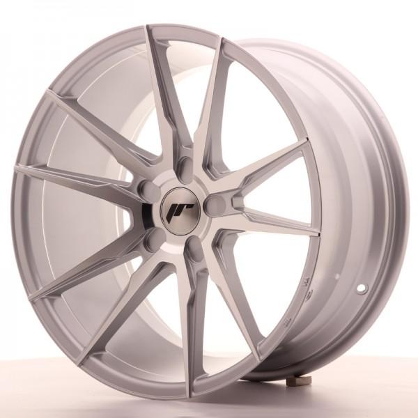 JR Wheels JR21 19x9,5 ET20-40 5H BLANK Silver Machined Face