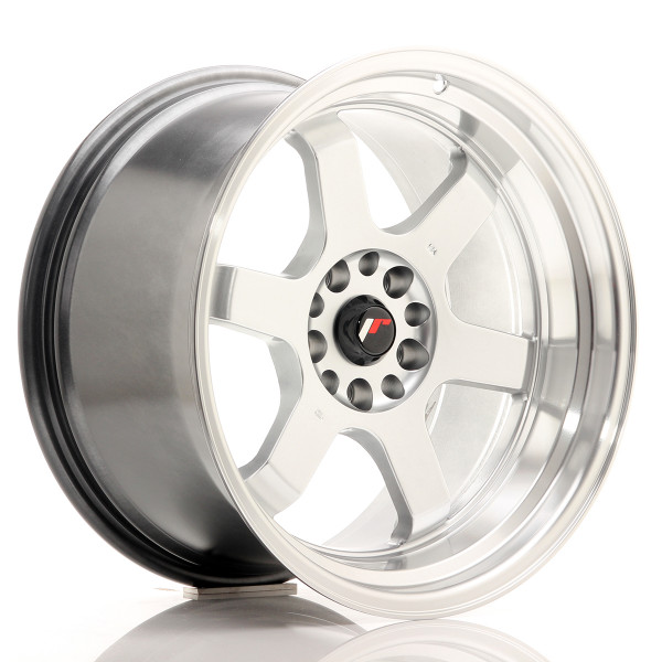 JR Wheels JR12 18x10 ET20 5x114/120 Hyper Silver w/Machined Lip