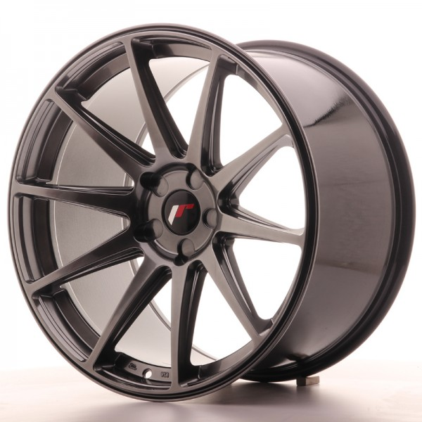 JR Wheels JR11 20x11 ET30-52 5H BLANK Hyper Black
