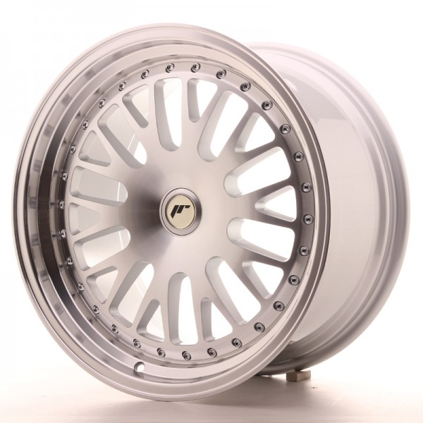 JR Wheels JR10 18x9,5 ET20-40 BLANK Silver Machined Face