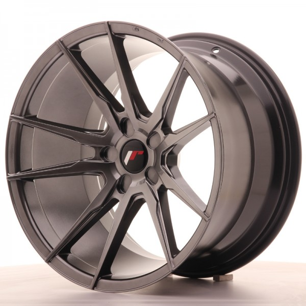 JR Wheels JR21 19x11 ET15-30 5H BLANK Hyper Black