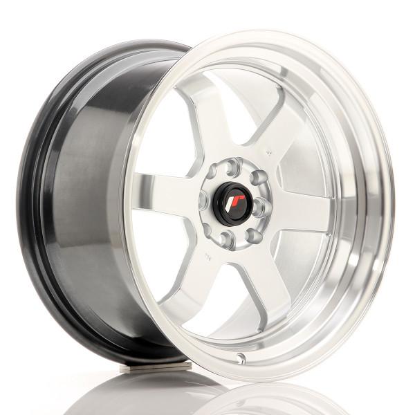 JR Wheels JR12 17x9 ET25 4x100/114 Hyper Silver w/Machined Lip