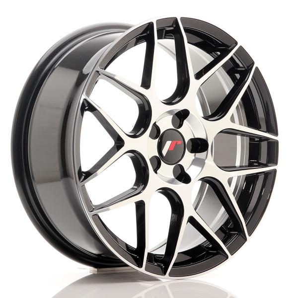 JR Wheels JR18 18x7,5 ET35-42 BLANK 5H Black Ma