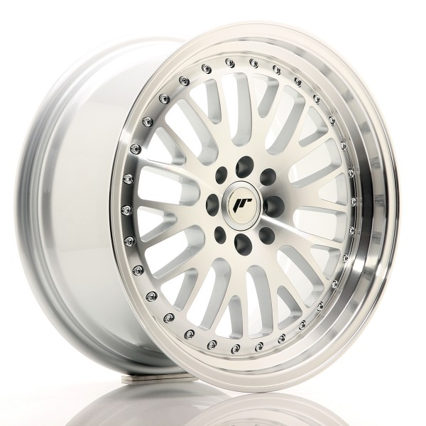 JR Wheels JR10 17x8 ET35 4x100/114 Silver Machined Face