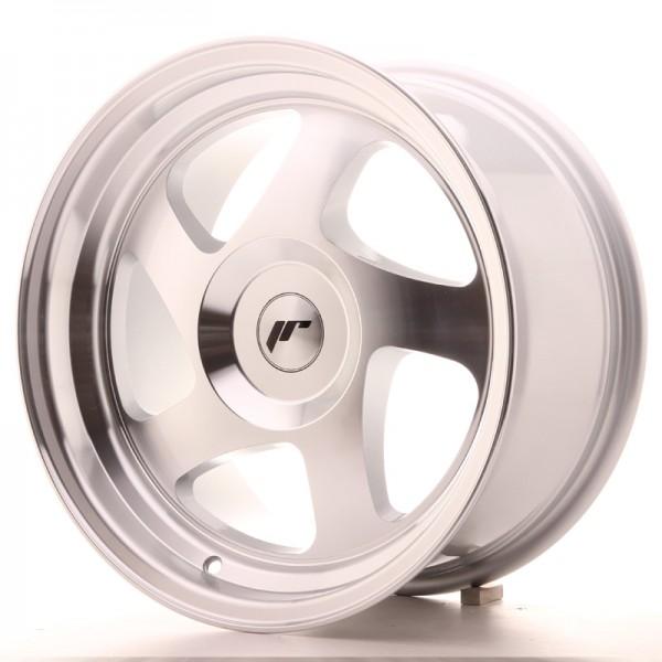 JR Wheels JR15 16x8 ET25 BLANK Silver Machined Face